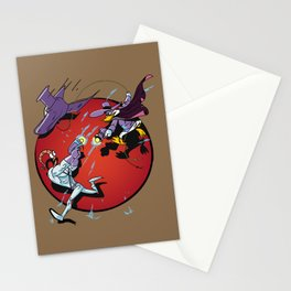 darkwing Jim Stationery Cards