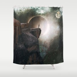 It's high anyway by GEN Z Shower Curtain