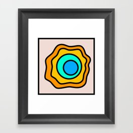 Lonely Travels - Geyser Framed Art Print