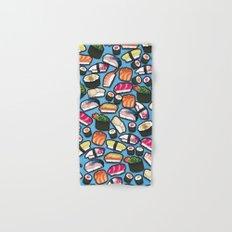 Sushi Blue Hand & Bath Towel