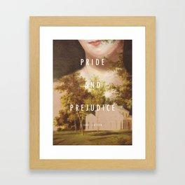 19th Century Women Writers - Pride and Prejudice Framed Art Print