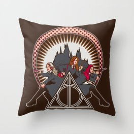 Dumbledore's Angels  Throw Pillow
