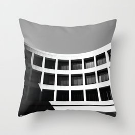 Brutal Arch Throw Pillow