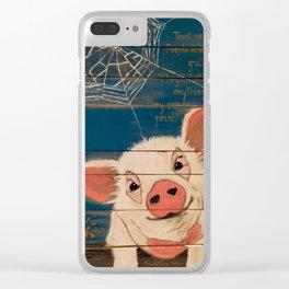 Oh, Wilbur! Clear iPhone Case