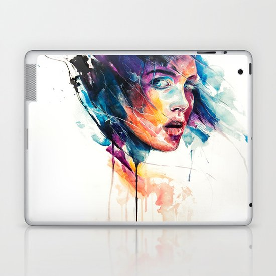 sheets of colored glass Laptop & iPad Skin