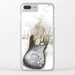 Stratocaster Guitar Clear iPhone Case