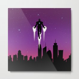 Ironman Break The Limits Metal Print