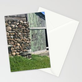 Barn Stone Foundation Rural Ontario Stationery Cards
