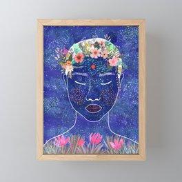 Inner beauty Framed Mini Art Print