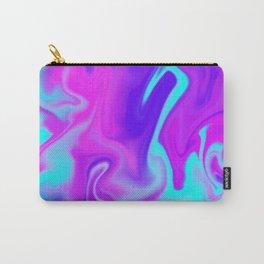 Neon Tye Dye Carry-All Pouch