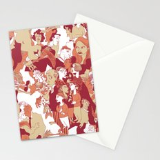 Beware the wolf Stationery Cards