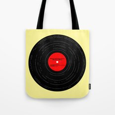 Born to Run- Bruce Springsteen Vinyl Tote Bag