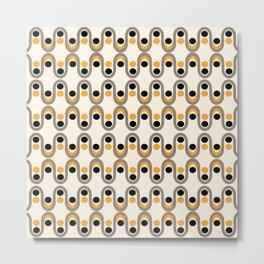 Steve Dots Bee Metal Print
