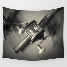 Going Fishing Wall Tapestry