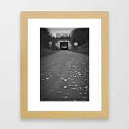 Autumn Lane Framed Art Print