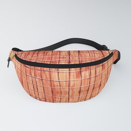 Red Chile Plaid Fanny Pack