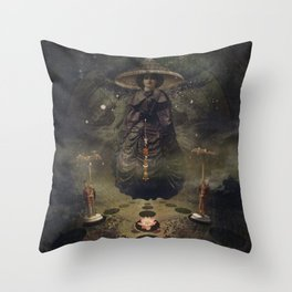 Gameplan - Banks of Eden - Night Version Throw Pillow