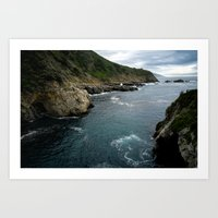 big sur Art Prints featuring Big Sur by Loaded Light Photography