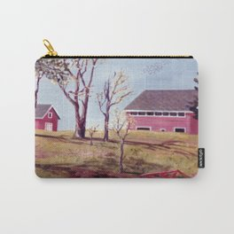 Evangeline  Trail, Nova Scotia             By Kay Lipton Carry-All Pouch