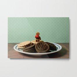 The Gingerbreadman Metal Print