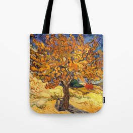 The Mulberry Tree by Vincent van Gogh Tote Bag