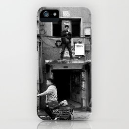 In the hood. iPhone Case