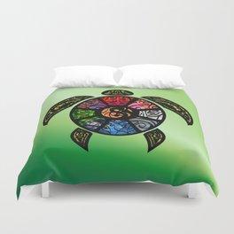 Bagua Turtle Duvet Cover