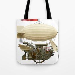 Flying Ship Tote Bag