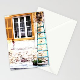Ladder in Nafplio Stationery Cards
