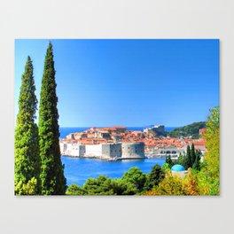 Croatia Treescape Canvas Print