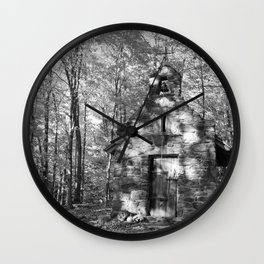 The church on the grounds Wall Clock