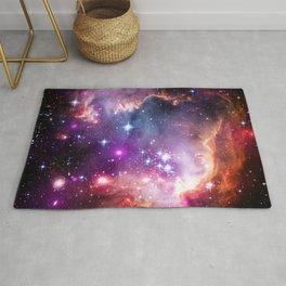 Small Magellanic Cloud Galaxy Rug