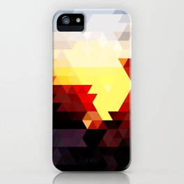 Geometric Sunset iPhone Case