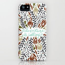 Adventure is Calling – Earth Palette iPhone Case