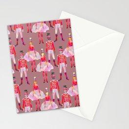 Nutcracker Ballet - Light Pink Gray Stationery Cards