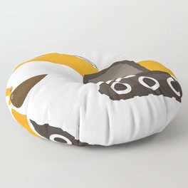 excavator Floor Pillow