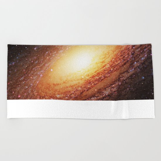 Spiral Galaxy Beach Towel