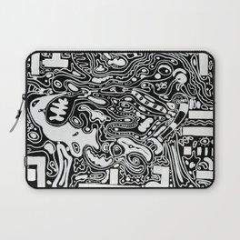 Organic Memories of An Urban Elephant Laptop Sleeve