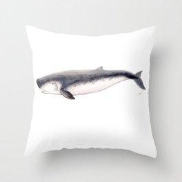 Pygmy sperm whale Throw Pillow