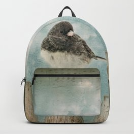 Winter bird Backpack