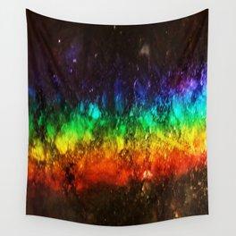 Rainbow Galaxy Art Wall Tapestry