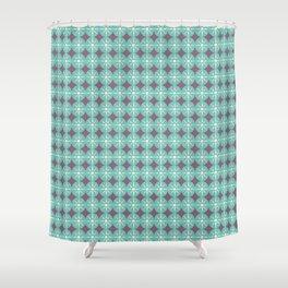 BELEN STAR FLOWER Shower Curtain