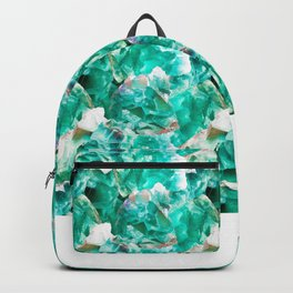Green Fluorite Crystal Toss Backpack