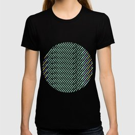 Green Drops of Time T-shirt