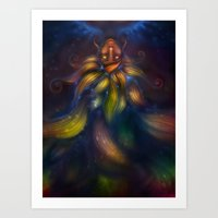 In This Colourspace Art Print