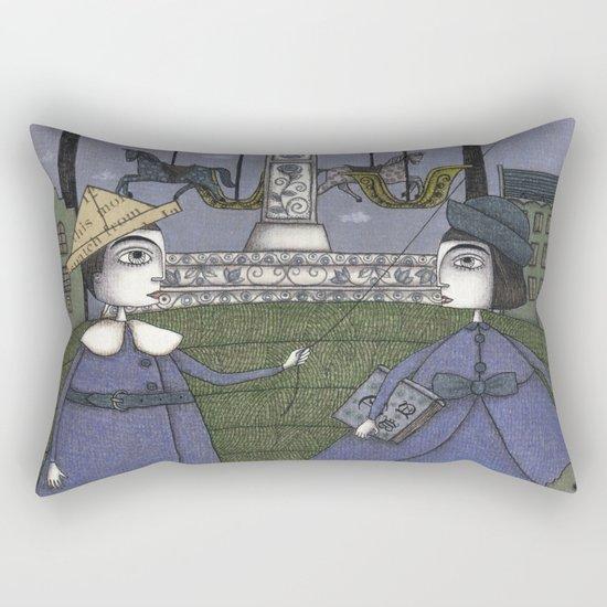 School's Out Rectangular Pillow