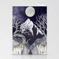guardians Stationery Cards featuring Guardians by Yoly B. / Faythsrequiem