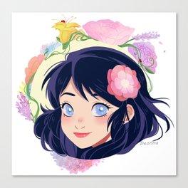 Flowers for Mari Canvas Print