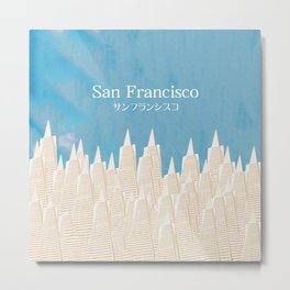 San Francisco TA Metal Print