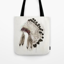 peace headdress Tote Bag